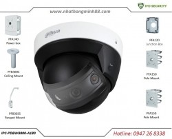 Camera IP Dahua IPC-PDBW8800-A180